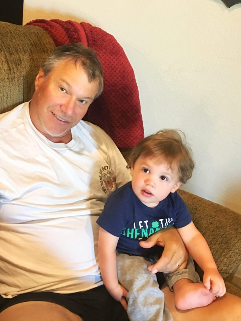 grandpa and landon