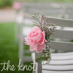 Pink Peony Ceremony Decor