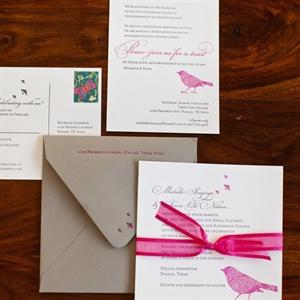 Bird-themed Invitations