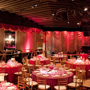 Pink and Red Reception Decor