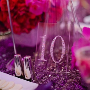 Glam Table Numbers