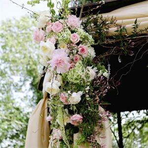 Garden Ceremony Decor
