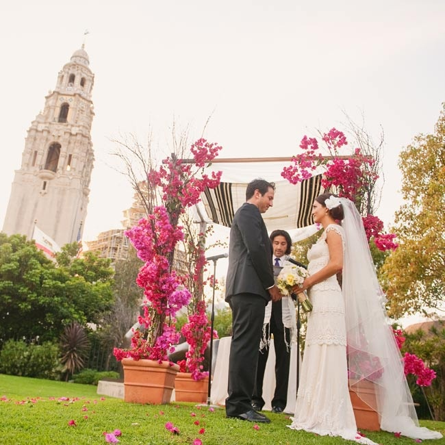 A Casual Winter Wedding in San Diego CA