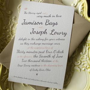 Playful Wedding Invitations