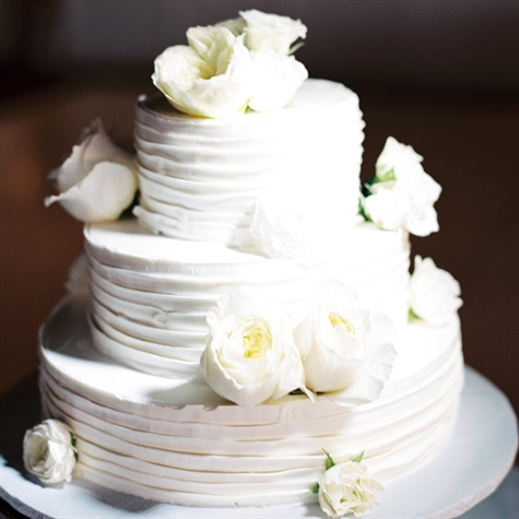 Simple White Buttercream Cake