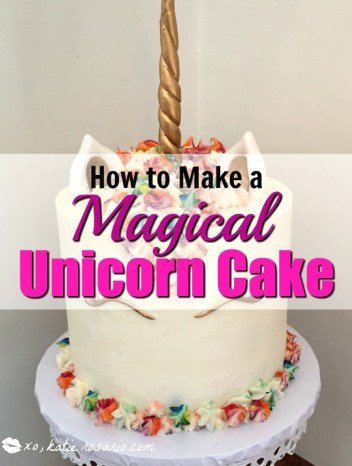 How to Make a Magical Unicorn Cake: I love unicorn cakes! Omg! There is so much you can do with them! Like all the different colors in the hair! Love it! I cant believe its a cake! Must try for sure! Saving for later!
