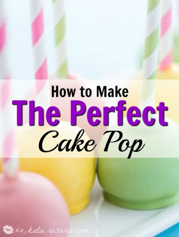 How to Make Cake Pops: I love this guide! It is so easy to learn from a professional baker and get the top tips to achieve perfect cake pops. Searching for an easy cake pop recipe! Stop looking and read this step by step guide. It really is so easy to make beautiful cake pops. Seriously the best! Pinning for later!