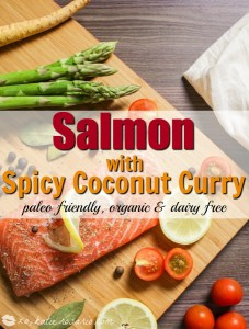 Salmon with Spicy Coconut Curry