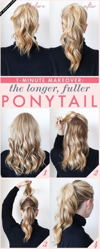double ponytail hairstyle for the office 5 minute hairstyle tricks for busy mornings
