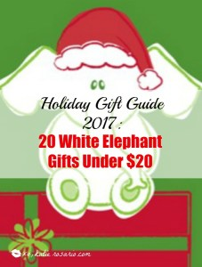Holiday Gift Guides 2017: For White Elephant Gifts 20 under $20