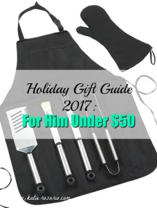 Holiday Gift Guides 2017: For Him 12 Under $50