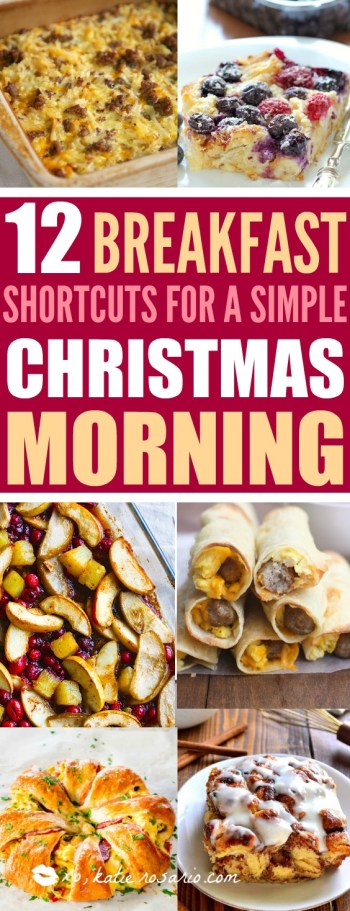 Christmas is here! Yay! I'm sorry the last thing I want to do is spend all Christmas morning in the kitchen. I want to spend the day in my cute matching pjs and enjoy my morning! I love these Christmas breakfast recipes! They are amazing! One they save so much time but also they taste great! I can set a casserole the day before and just throw it into the oven or start a slow cooker when I first get up and enjoy my family! I love how easy it makes my Christmas morning! This is a must have!