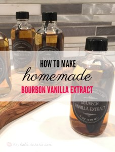How to Make Homemade Bourbon Vanilla Extract