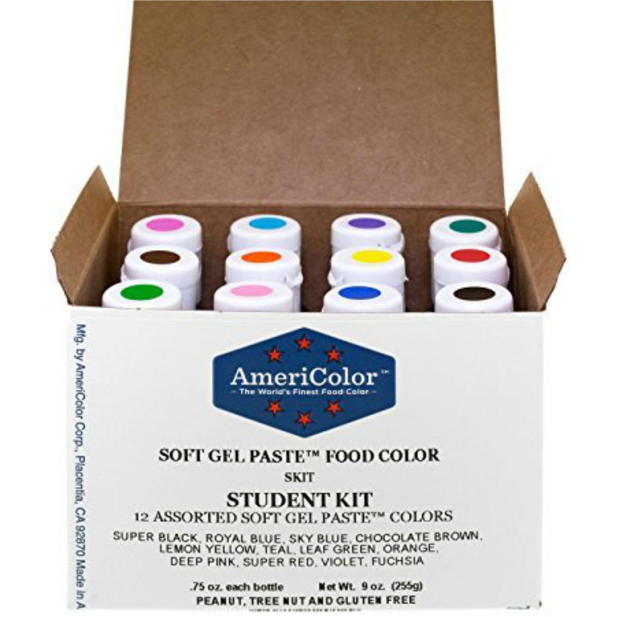 Food Coloring AmeriColor Soft Gel Paste Colors - XO, Katie Rosario