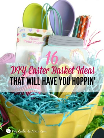 16 diy easter basket ideas that will have you hoppin xo katie easter is almost here i cant wait this is a genius idea negle Images