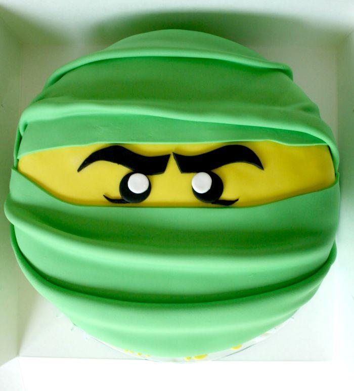 Lego Birthday Cakes Ninjago Head Xo Katie Rosario