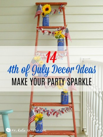 14 4th of july decor ideas to make your party sparkle xo katie