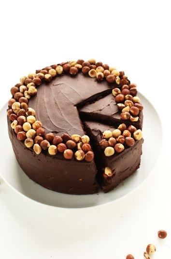 Minimalist Baker Hazelnut Cake