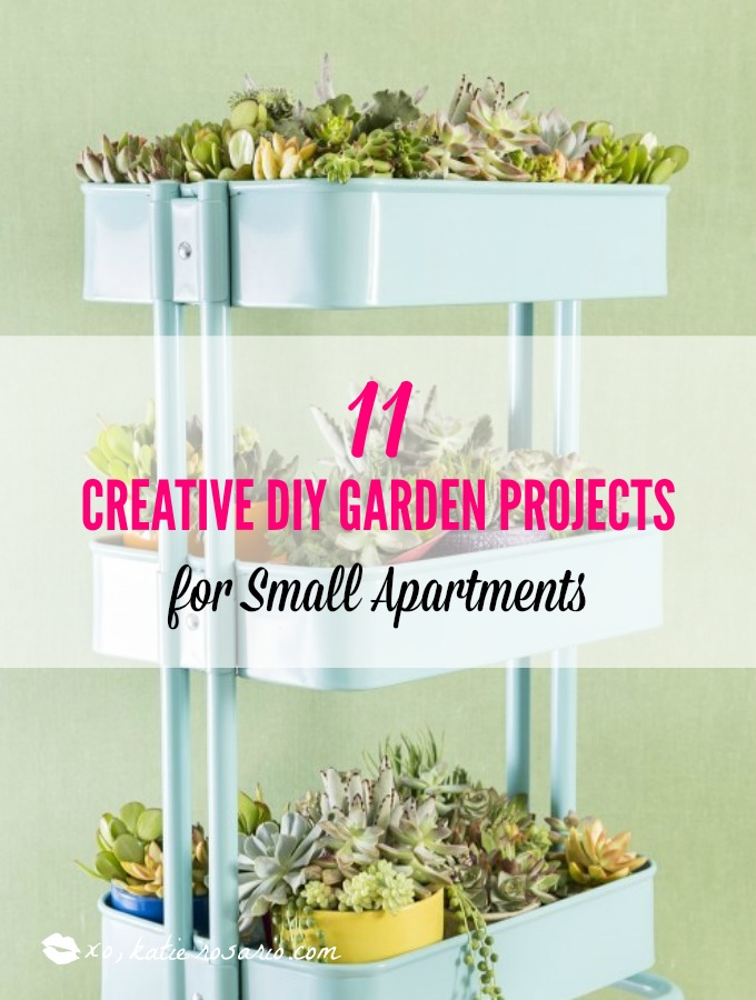 11 Creative DIY Garden Projects For Small Apartments. These DIY Garden  Projects They Are Perfect