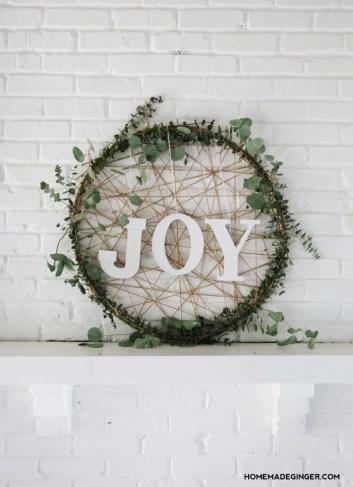 9 Easy Amp Elegant Diy Hula Hoop Wreaths Xo Katie Rosario
