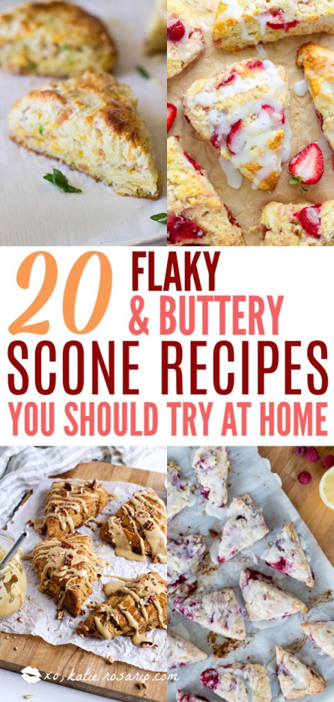 20 Flaky & Buttery Scone Recipes You Should Totally Try at Home | Scones are little nuggets of golden brown goodness known for accompanying your afternoon tea. You can choose different flavor combinations like Dark Chocolate Cherry, Gruyere & Procuitto, and Maple Bacon. Here are some basic tips before baking scones to guarantee you get perfect scones every time. How to Make Sweet & Savory Scones Perfect Every Time! #xokatierosario #easysconerecipes #homemadescones #sweetscones