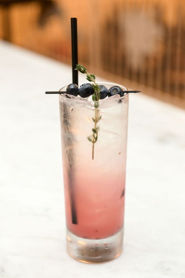 Summerthyme Fling | These Galentine's Day inspired cocktails are fun twists on classic cocktails that'll make your gal pal day festive! Choose from strawberry Moscow mules or homemade Frosé, cotton candy champagne or a pink senorita. These Galentine's day cocktails will elevate your next girls night! #xokatierosario #galentinesdaydrinks #girlsnightideas #girlsnightcocktails