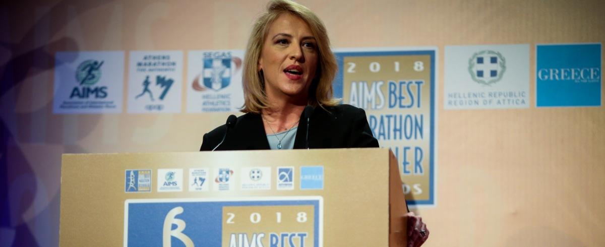 Δούρου: «Στόχος να ολοκληρωθεί παράλληλα με το γήπεδο της ΑΕΚ η υπογειοποίηση»