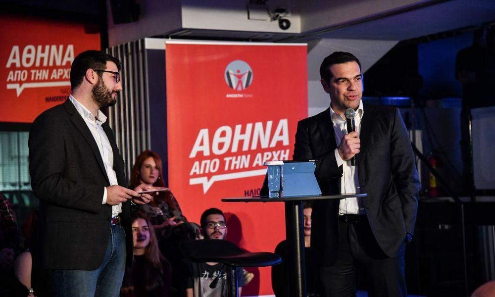 Νάσος Ηλιόπουλος: Θέλουμε μια πόλη χωρίς πίσω αυλές και αόρατα σημεία