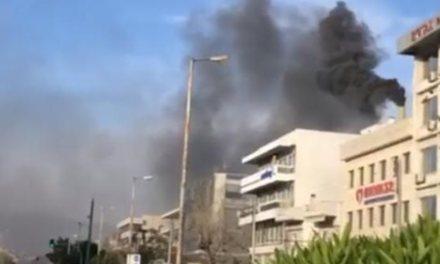 Πυρκαγιά στο Χολαργό στο ψητοπωλείο «ο Πρόεδρος» (Video)