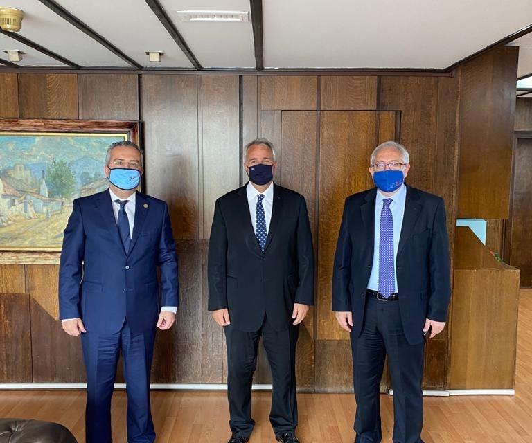 Συνάντηση του Δημάρχου Παπάγου – Χολαργού και Προέδρου του ΙΤΑ με τον Υπουργό Εσωτερικών Μάκη Βορίδη