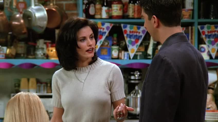 老友記/六人行/Friends 第一季 第二十四集 S01E24 The One Where Rachel Finds Out / 瑞秋恍然大悟中英文字幕雙語劇本視頻 ...