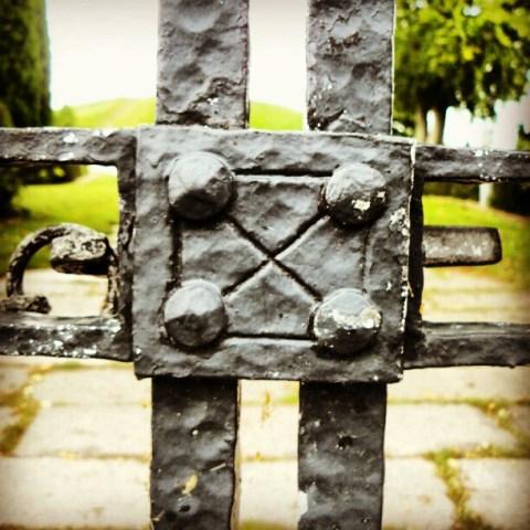 Behind this gate…..