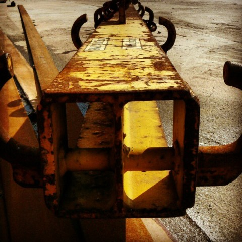 Rusty and yellow day…