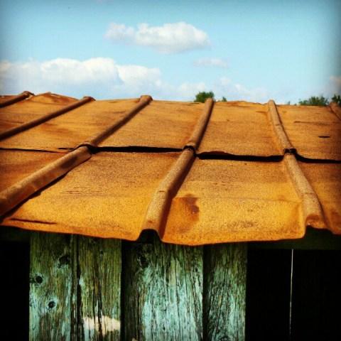 My rusty roof