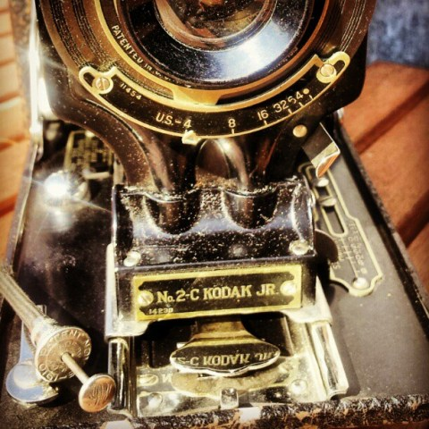 My beautiful vintage Kodak no.2