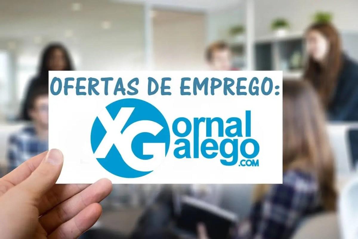 Ofertas de emprego en Galicia a día 22/10/2018