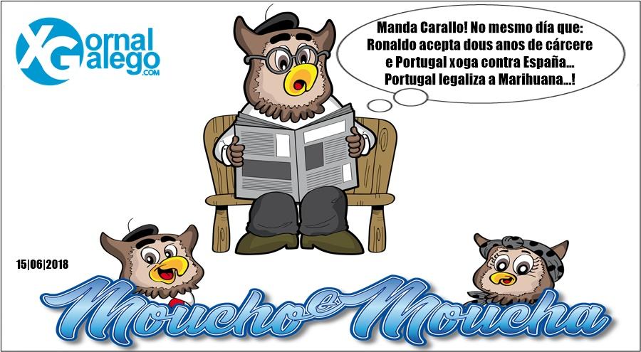 Moucho analiza a situación actual de Portugal