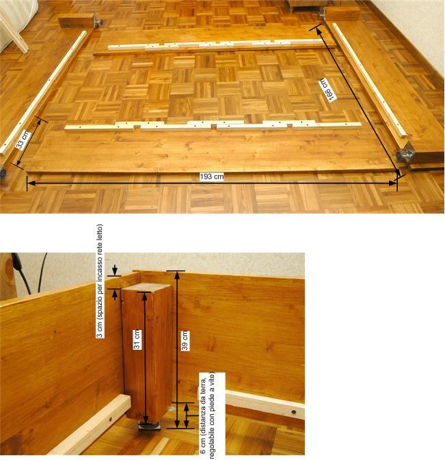 Costruire un letto contenitore  XOrse