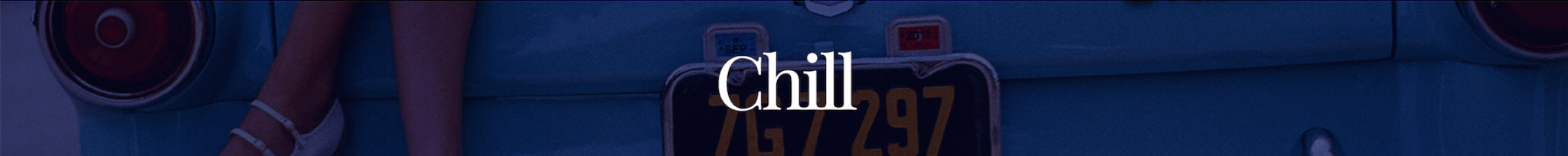 chill banner