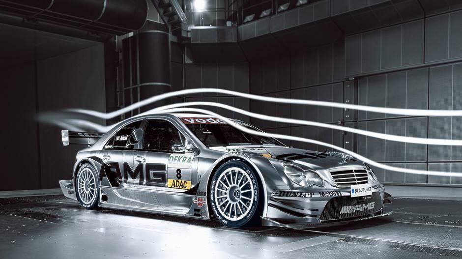 wind tunnel race car testing