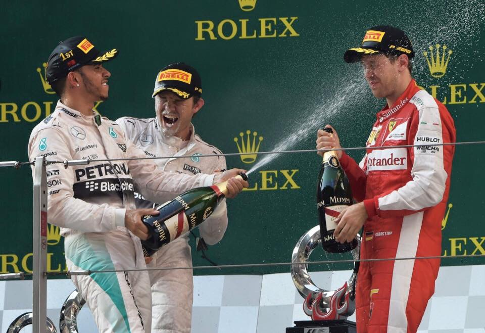 AMG wins Chinese GP