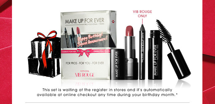 If Youre A VIB Rouge You Get The Same Gift But With An Extra Bonus