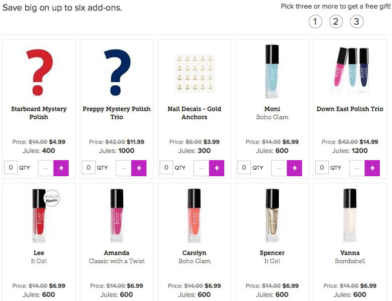 Julep-May-2015-Add-ons