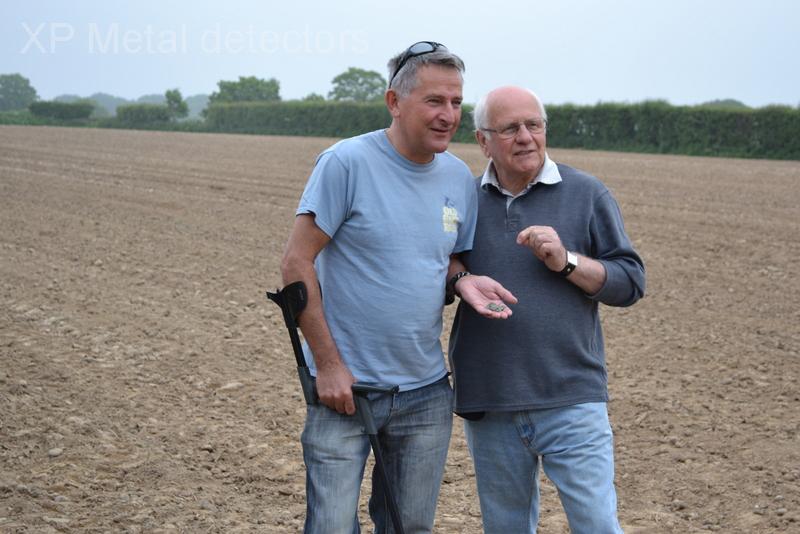 Richard Miles and Reg Mead