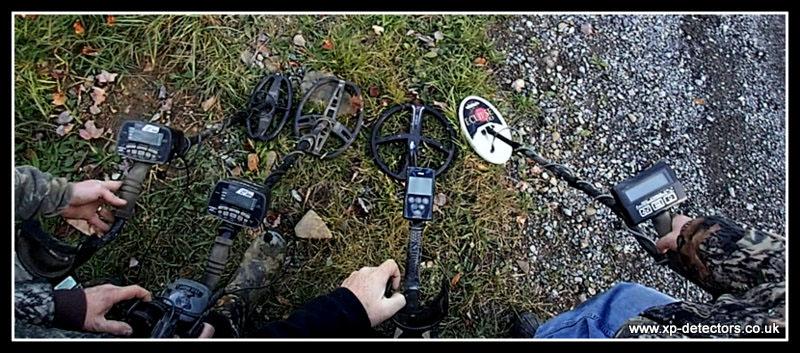 Metal detectors on test