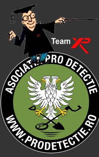 Team XP metal detectors Romania