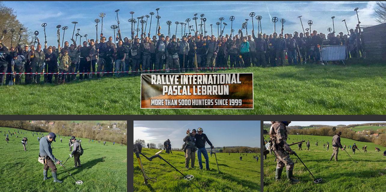 Metal detecting in Belgium at the Pascal Lebrrun rally