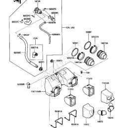 kawasaki motorcycle wiring diagrams kawasaki billede til varegruppe air cleaner [ 1000 x 1308 Pixel ]