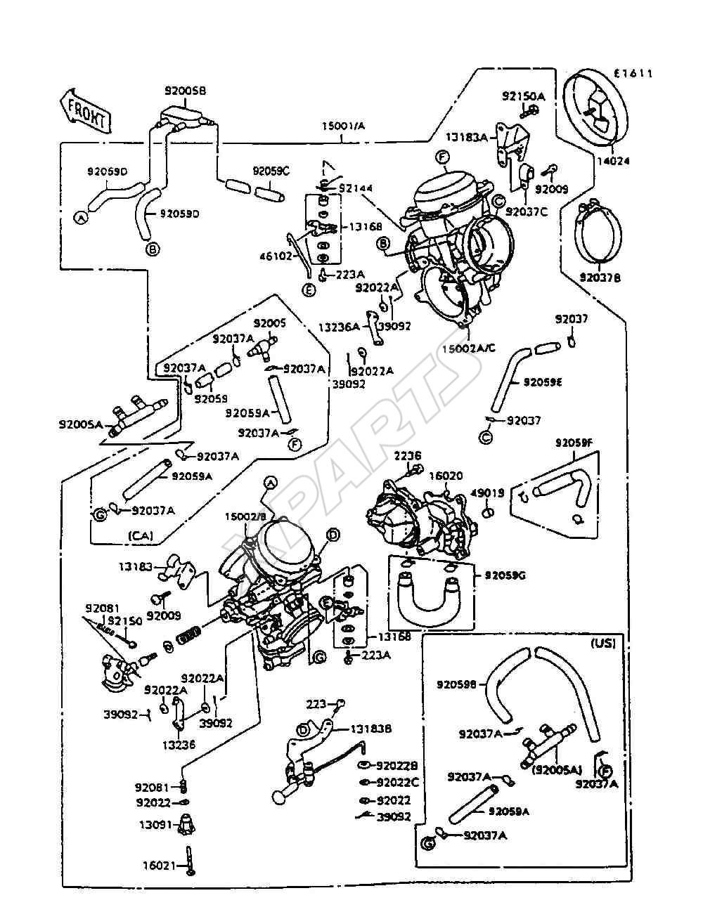 Kawasaki Vn800 Vulcan 800 Wiring Diagram Kawasaki Vulcan