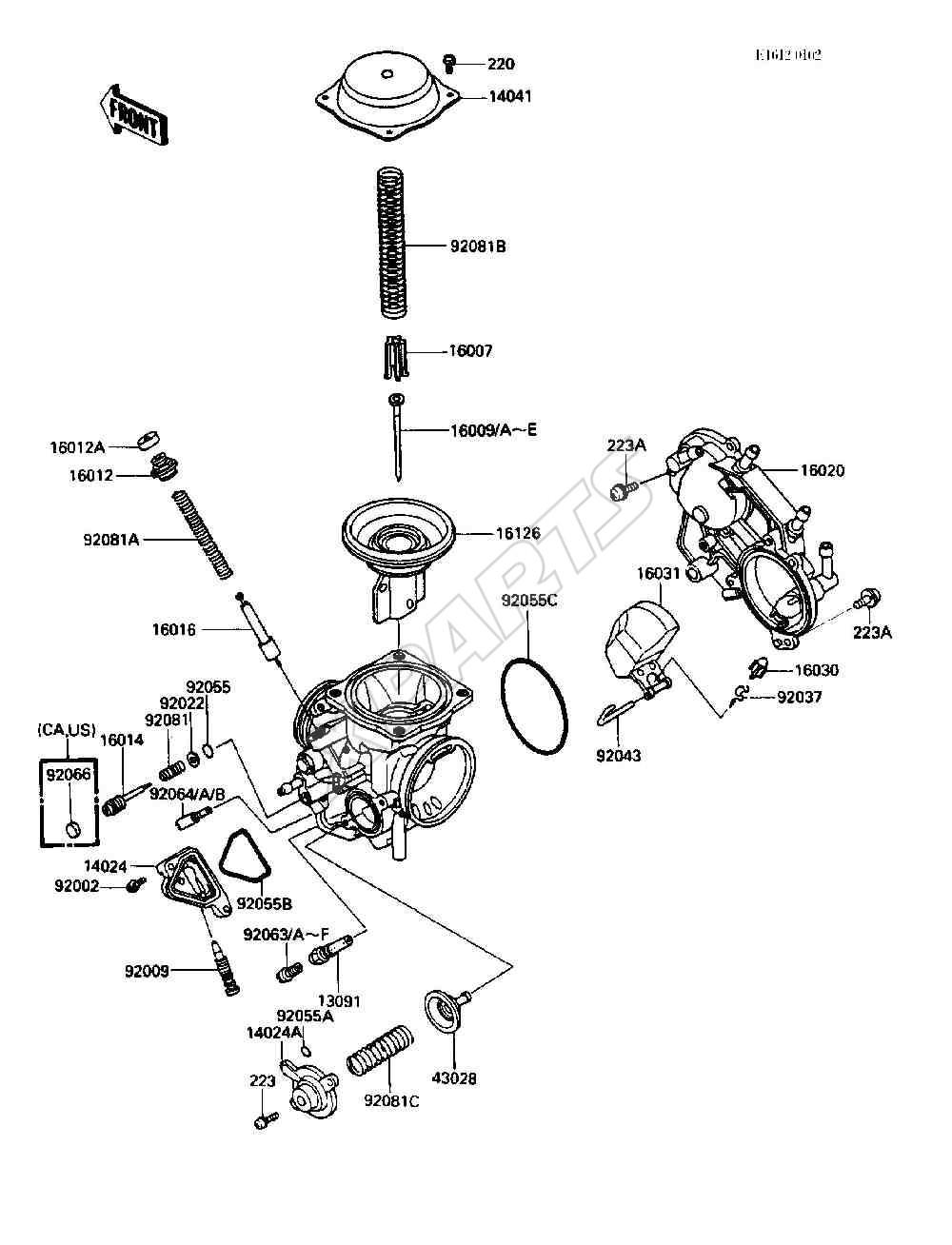 Kawasaki vulcan 750 vn750 a2 fra 1986 originale reservedele fra 49198488 1986 vulcan 750 vn750 a2 kawasaki vulcan 750 engine diagram
